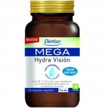 Dietisa - Mega Hidra Visión | Nutrition & Santé | 30 cápsulas | Arándano, Vitaminas y Minerales | Visión