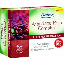 Dietisa - Arándano Rojo Complex   Nutrition & Santé   30 cápsulas   Arándano Rojo y Gayuba   Sistema Urogenital