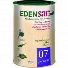 Edensan - Circulación 07 | Nutrition & Santé | 75g | Espino blanco, hojas y flores | Plantas