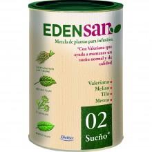 Edensan - Sueño 02 | Nutrition & Santé | 70g | Valeriana, hojas y flores | Plantas