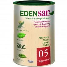 Edensan - Digestión 05 | Nutrition & Santé | 75g | Milenrama, Menta, Hinojo, Raices, hojas y flores | Plantas