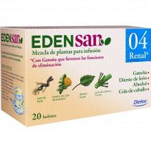 Edensan - Renal 04 Filtros | Nutrition & Santé | 20 filtros | Abedul, hojas y flores | Plantas