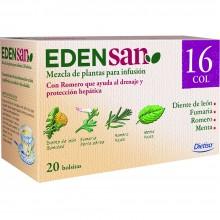 Edensan - Circulación Col 16 Filtros | Nutrition & Santé | 20 filtros| Diente de leon, hojas y flores | Plantas