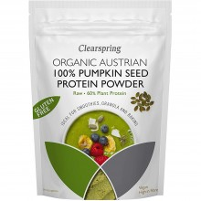 ClearSpring - Proteína en polvo de semillas crudas de Calabaza   Nutrition & Santé   350g   Calabaza   Proteínas en Polvo
