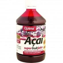 Optima - Zumo de Açai | Nutrition & Santé | 500ml | Uva negra, Licopeno y Resveratrol | Zumos