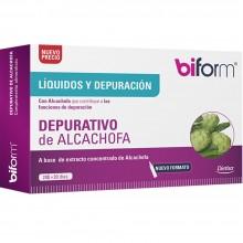 Biform - Depurativo de Alcachofa | Nutrition & Santé | 20 viales 1200 mg | Alcachofa | Líquidos/Depuración