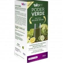 Biform - Poder Verde | Nutrition & Santé | 500ml | Cola Caballo, Alcachofa, Abedul, Diente León y Ulmaria | Líquidos/Depuración