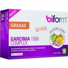 Biform - Garcinia 1500mg Complex | Nutrition & Santé | 42 caps | Garcinia y azafrán, con cromo | Grasas