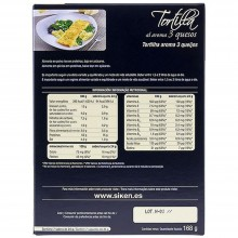 SikenDiet Tortilla al aroma 3 Quesos | Siken | 7 sobres de 24gr | Control de peso - Dietas saludables
