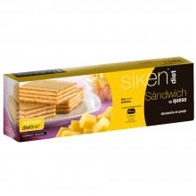 SikenDiet Sandwich de Queso | Siken | Caja de 6 unidades de 20 gr | Control de peso - Dietas saludables
