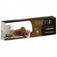 SikenDiet Galletas de Chocolate | Siken | Caja con 3 paquetes de 5 galletas de 7,5 gr | Control de peso - Dietas saludables