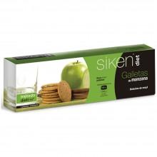 SikenDiet Galletas de Manzana | Siken | Caja con 3 paquetes de 5 galletas de 8 gr | Control de peso - Dietas saludables