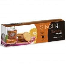 SikenDiet Galletas de Naranja | Siken | Caja con 3 paquetes de 5 galletas de 7,5 gr | Control de peso - Dietas saludables