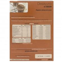 SikenDiet Desayuno de Cacao | Siken | Caja con 7 sobres de 24 gr | Control de peso - Dietas saludables