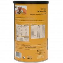 SikenDiet Bebida de Cacao con fibra de Avena | Siken | Bote de 400 gramos | Control de peso - Dietas saludables