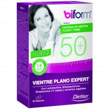 Biform - 50+ Vientre Plano Expert | Dietisa | 48 cáps. | Perder Peso – Zonas Rebeldes