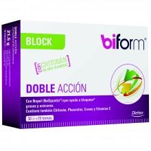Biform - Block Doble Acción | Dietisa | 30 cáps. | Perder Peso – Bloqueadores