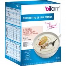 Biform - Crema de Yogur con Cereales | Dietisa | 6 natillas | Sustitutivos