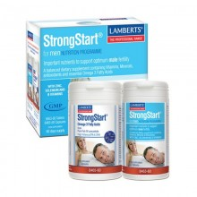 StrongStart para Hombres | Lamberts | 60Tablet. 1500mg | Fertilidad Hombres