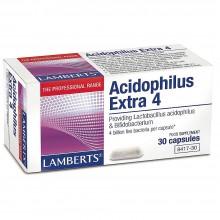 Acidophilus Extra 4   Lamberts   30 Caps.   sist. Digestivo