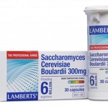 Saccharomyces Cerevisiae Boulardii | Lamberts | 30 Comp. 300 mg | Digestión y sistema Inmune