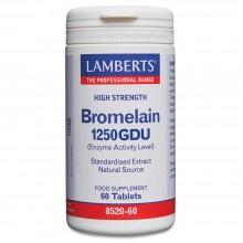 Bromelina   Lamberts   60 Comp. 1000mg   Digestión