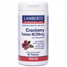 Arándano Rojo | Lamberts | 60 Comp. 18.750 mg | Digestión