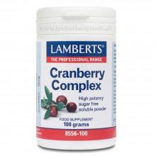 Complejo de Arándano Rojo en Polvo soluble   Lamberts   100g   Digestión - Antiox