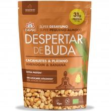 Despertar de Buda - Cacahuetes y Plátano | Nutrition & Santé | 360g | Superalimentos, Plátano, Cacahuetes | Superalimento
