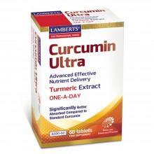 Curcumina Ultra   Lamberts   60 Comp. 500 mg   Digestión