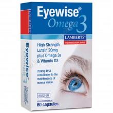 Eyewise® Omega 3 | Lamberts | 60 Comp. 1000 mg | Vista