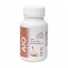 Ajo Macerado | Sotya | 220 Cáps. 700 mg | Salud del Corazón