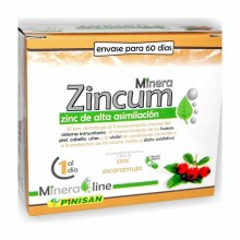 Minera Zincum | Pinisan | 60 cáps de 130 mg | Sistema inmunitario