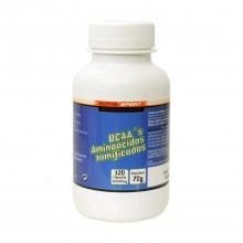 BCAA's Aminoácidos Ramificados | Sotya | 120 Cáps. 600mg | Dolores, Antidepresivos, Heridas