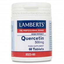 Quercetina | Lamberts | 60 cáps. 500mg | Antihistamínico, Corazón y Antioxidante