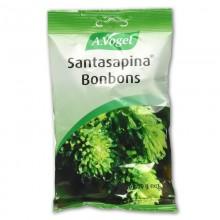 Santasapina Bonbons | A. Vogel | Bolsa 100g | Caramelos Refrescantes | Acción Inmunitaria, contra contagios, gripe y tos