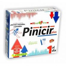 Pinicir Plus | Pinisan | 15 viales de 306 mg | Mejora la Circulación de las Piernas