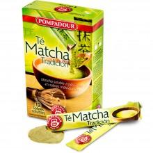 Té Matcha Soluble | Pompadour | 12 sobres solubles | Estimulante