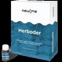 Herboder Plus   Herbora   20 viales   Hepátic, Depurativo del Hígado, Metabolismo Lento