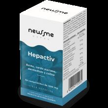 Hepactiv   Herbora   30 cáps.   Hepátic, Depurativo del Hígado, Metabolismo Lento