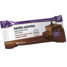 Barrita Saciante Rellena de Chocolate Negro | Herbora | 1ud | Snack