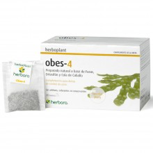 Obes-4 | Herbora | 20 infusiones | Metabolizar Grasas y Retención de Líquidos