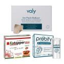 Slim Business Express   PACK AHORRO   Probióticos + Parches + Cápsulas   1mes   Reduce Peso y Abdomen en Viajes