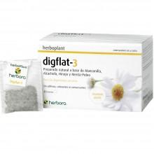 Digflat-3   Herbora   20 infusiones   Digestión Pesada y Gases