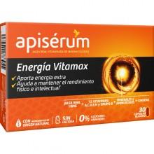 Apisérum Energia Vitamax caps | Apisérum| 30 cáps de 120 mg | Energía