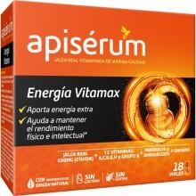 Apisérum Energia Vitamax viales | Apisérum| 18 viales 650 mg | Energía