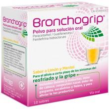 Bronchogrip | Bronchostop | 10 sobres | Antigripal