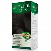 Tinte 2n moreno FTT Gel | Farmatint | 60 ml | Tinte Moreno
