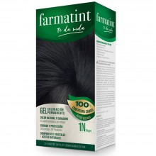 Tinte 1n negro FTT Gel | Farmatint | 60 ml | Tinte Negro