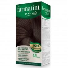 Tinte 4n castaño FTT Gel | Farmatint | 60 ml | Tinte Castaño